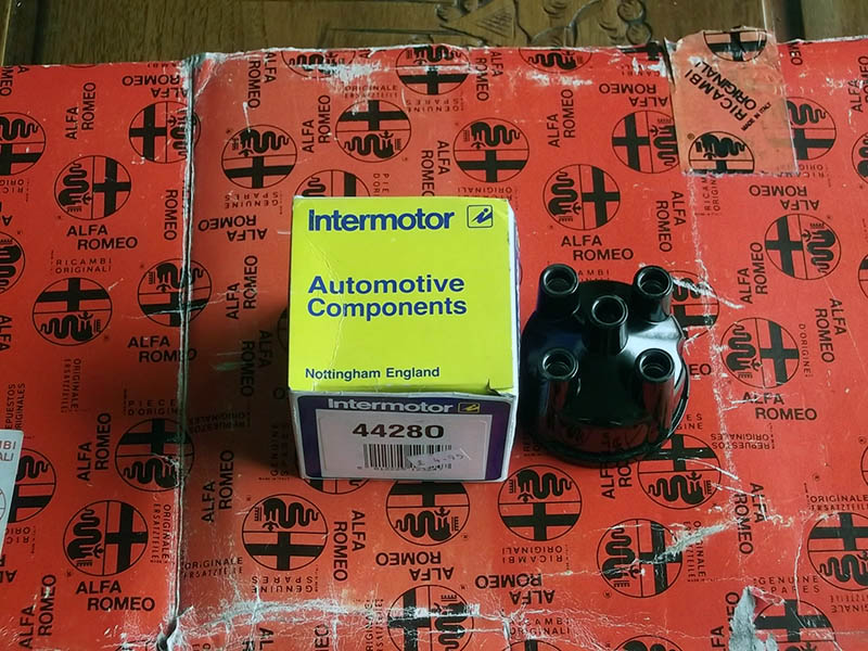 Alfasud S1 S2 S3 Sprint 33 ducellier Oe distributor cap