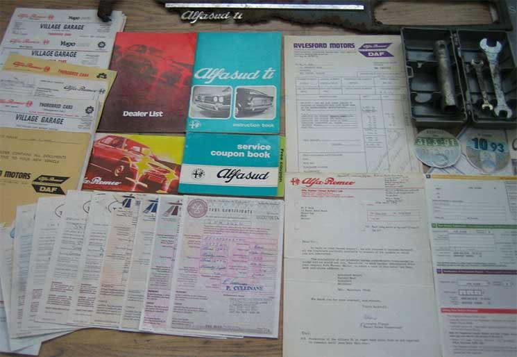 Alfasud Sprint 33 Parts Mailorder Shop Online
