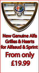 good deals on alfasud grilles